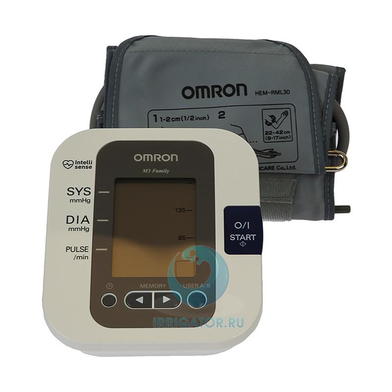 Тонометр OMRON M3 Family Адаптер + манжета