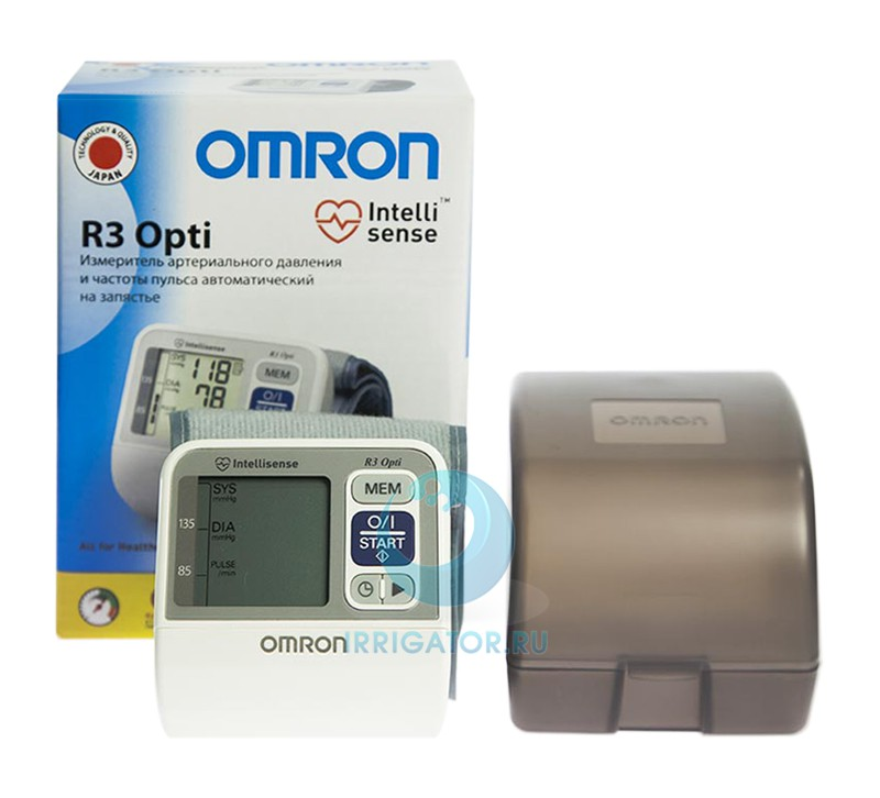 Тонометр OMRON R3 Opti автоматический на запястье