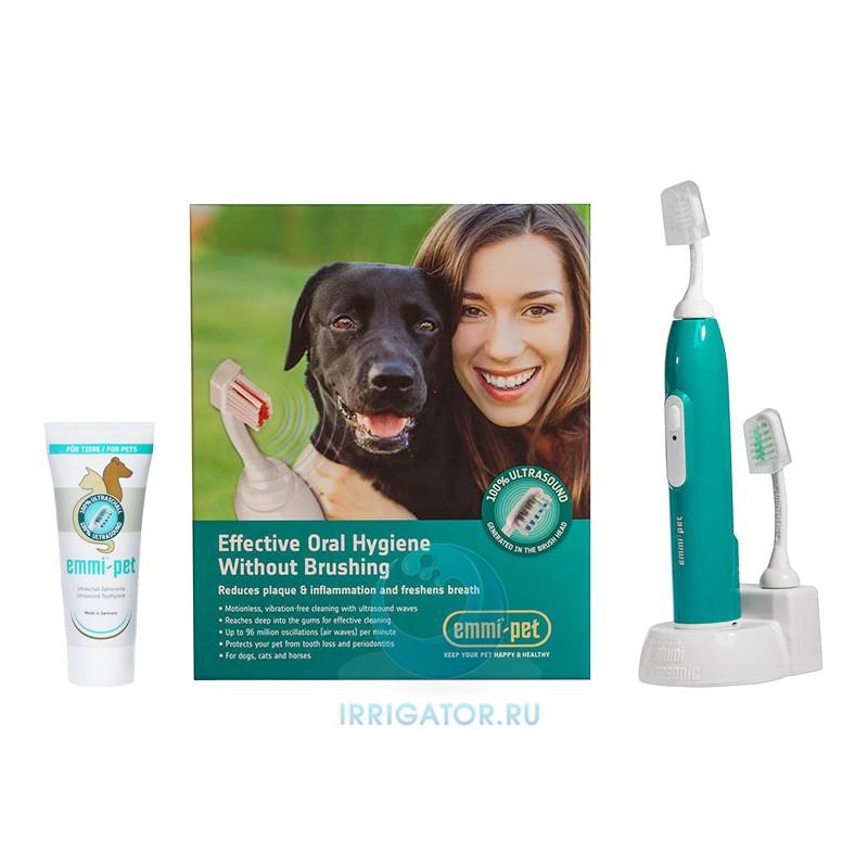 Ультразвуковая зубная щетка Emmi-pet для собак
