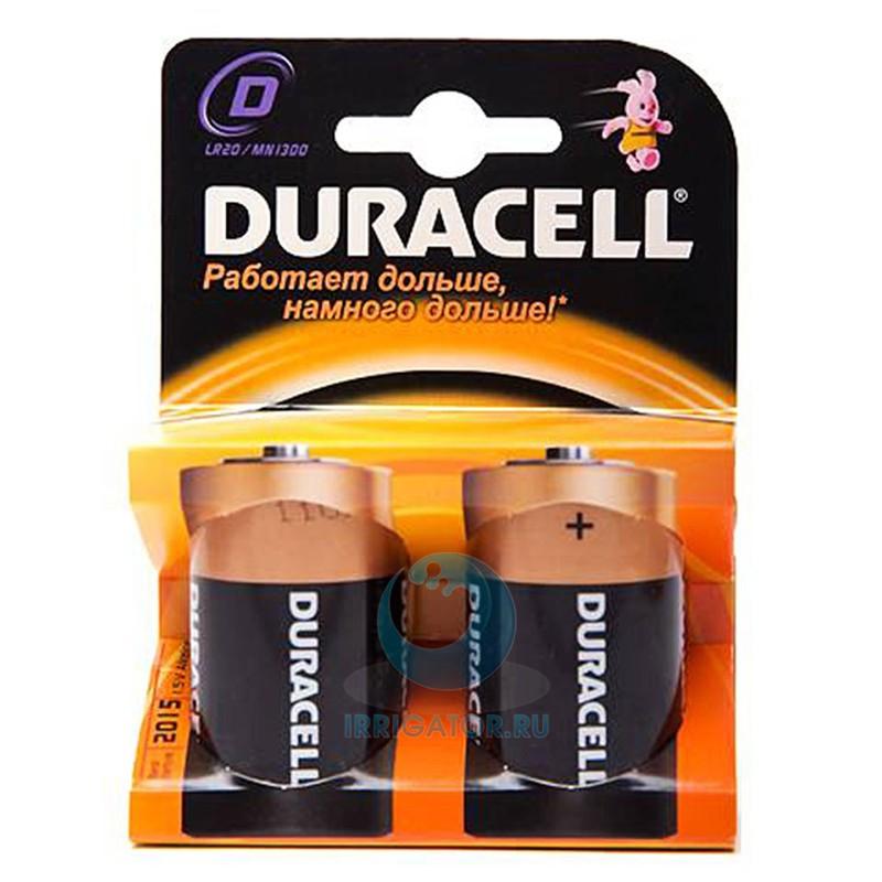 DURACELL Basic D Батарейки алкалиновые 1.5V LR20 2шт