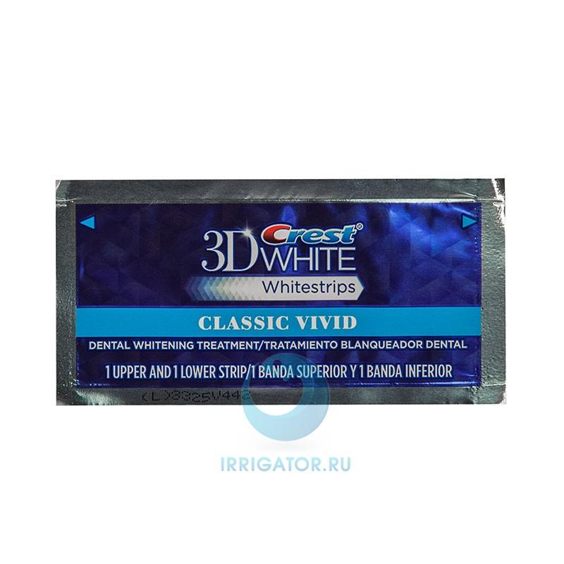 Полоски Crest 3D White Whitestrips Vivid отбеливающие, 1 шт