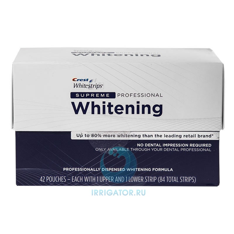 инструкция Crest Whitestrips Supreme Professional - фото 10