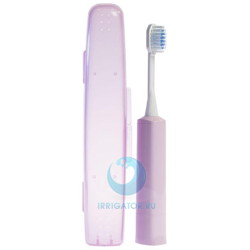 Электрическая зубная щетка Hapica DBM-5P с футляром