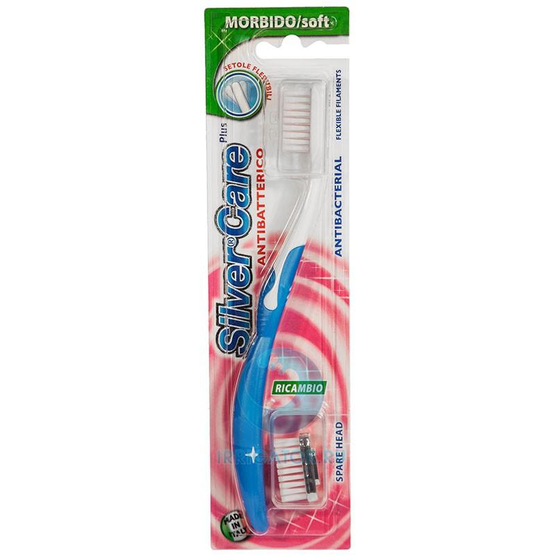 Зубная щетка Silver Care Plus антибактериальная soft
