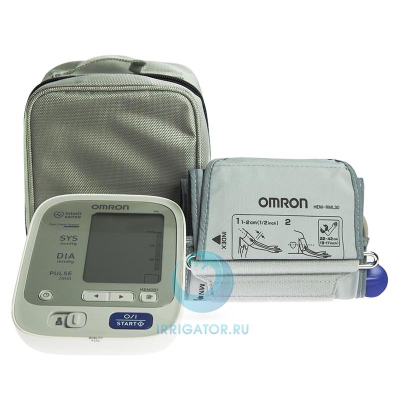 Тонометр OMRON М6 адаптер + универсальная манжета