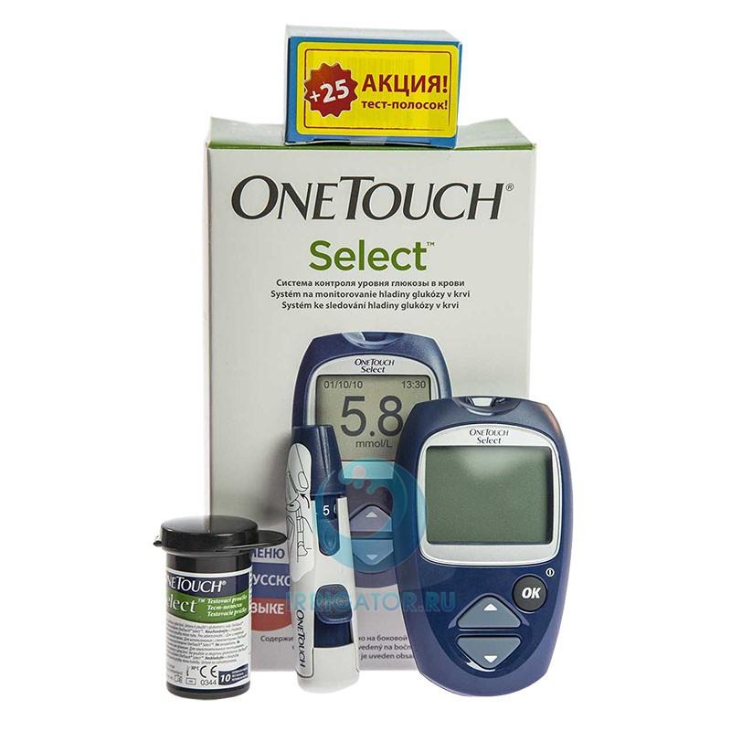 Глюкометр Onetouch Select Инструкция