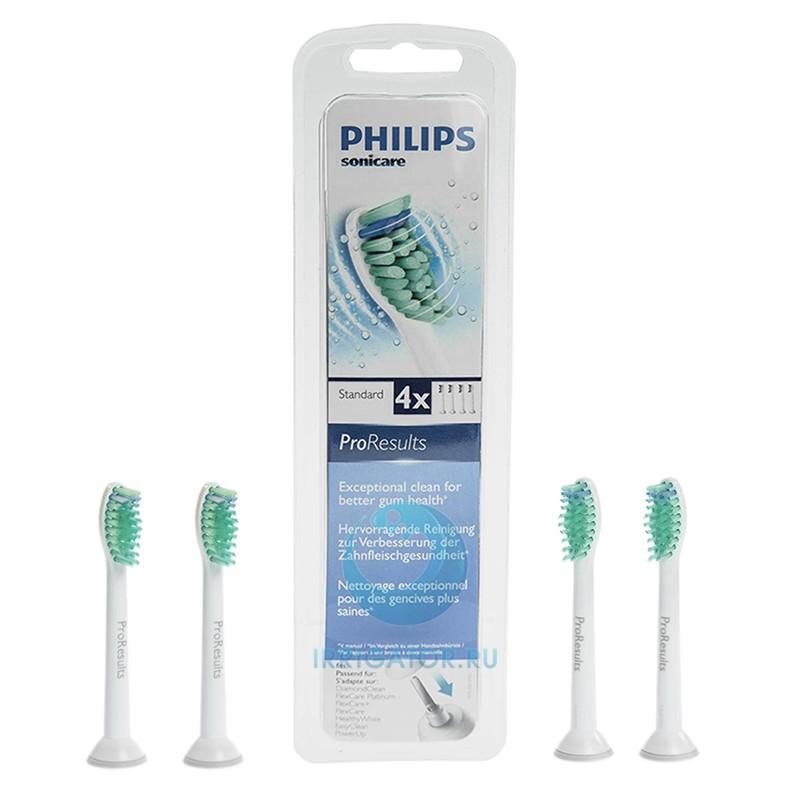 Насадки Philips HX6014 ProResults, 4 шт