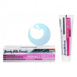 Зубная паста Beverly Hills Formulа Perfect White Black Sensitive, 100 мл