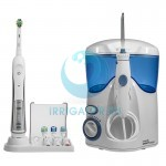 Waterpik WP-100 Ultra E2 + щетка Oral-B Triumph 5000 D34 Trizone