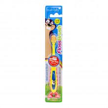 Brush Baby - Щетка зубная детская FlossBrush от 3 до 6 лет
