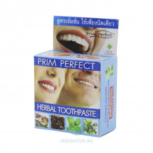 Зубная паста Twin Lotus PRIM PERFECT растительная, 25 мл
