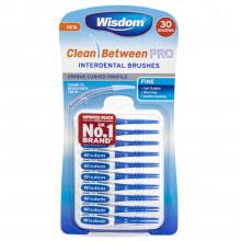 Ершики Wisdom цилиндрические Clean Between Pro S, 30 шт