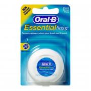Зубная нить Oral-B Essential вощеная, 50 м