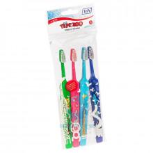 Зубные щетки TePe Zoo Select набор, 4 шт