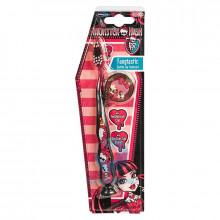 Зубная щетка Monster High на присоске от 8 лет