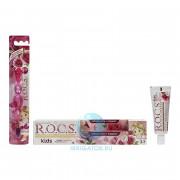 Зубная паста + зубная щетка R.O.C.S. Kids Sweet Princess (3-7 лет) 35 мл