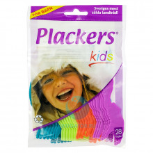 Флоссер Plackers Kids, 28 шт.