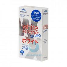 Отбеливающие полоски Megami White Xtreme 3D PRO, 28 шт.