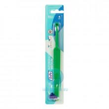 Зубная щетка TePe Interspace монопучковая с насадками (4 шт ) средней жесткости