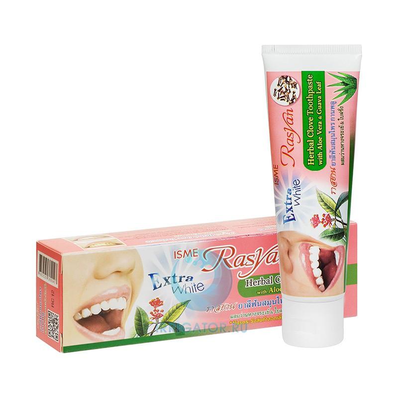 Тайская зубная паста отбеливающая herbal