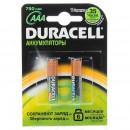 Аккумуляторы Duracell никель-металлгидридные AAA HR6 750mAh 2шт