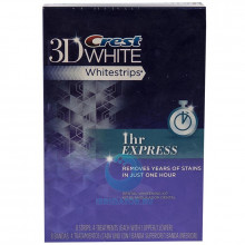 Полоски Crest 3D White Whitestrips 1hr Express отбеливающие