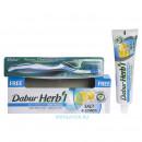 Dabur herb`l с солью и лимоном + зубная щетка