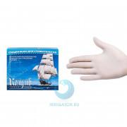 Перчатки смотровые латексные без талька (XS) - 100 шт