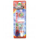 Набор Marvel Heroes MH-3 щётка с колпачком + паста