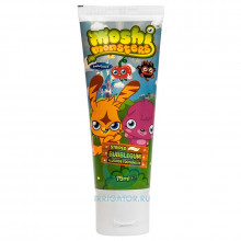 Зубная паста Moshi Monsters с флюоридом до 6 лет, 75 мл