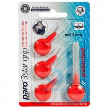 Ершики Paro 3Star-Grip треугольные 2 мм