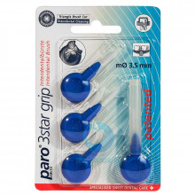 Ершики Paro 3Star-Grip треугольные 3,5 мм