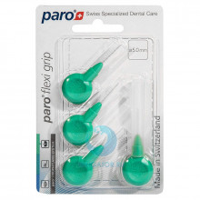 Ершики Paro Flexi Grip Green 5 мм