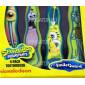 Зубная щетка Spongebob Sb-9 на присоске, 4 шт