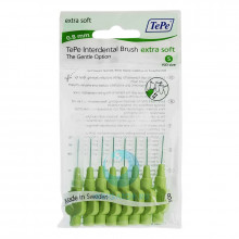 Ершики TePe Interdental Brush extra soft 0.8 мм Green