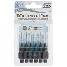 Ершики TePe Interdental Brush 1.3 мм Grey