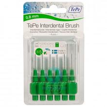 Ершики TePe Interdental Brush 0.8 мм Green