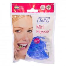 Зубная нить TePe Mini Flosser с держателем, 36 шт