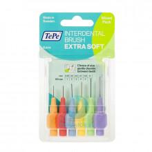 Ершики TePe Interdental Brush extra soft разного диаметра