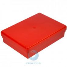 Коробка Dr. Hinz Dental для транспортировки, красная