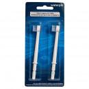 Насадка-щетка для  Waterpik WP-100, WP-450, WP-360, 2 шт