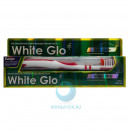 Зубная паста White Glo отбеливающая трав...