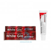 Зубная паста White Glo отбеливающая экстрасильная, 24 мл