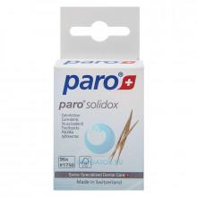 Зубочистки Paro деревянные саблевидные, 96 шт