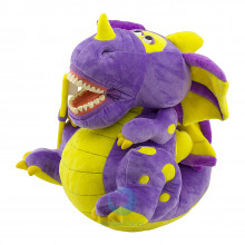 "Игрушка мягкая с зубами Revyline WJ-033 ""Дракон"""