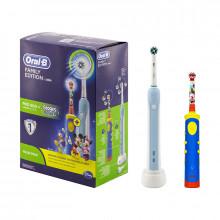 Braun Oral-B PRO 500 CrossAction + Oral-B Kids Power Toothbrush