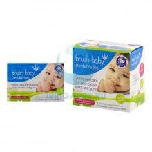 Салфетки с ксилитом Brush Baby Dental Wipes, 28 шт.