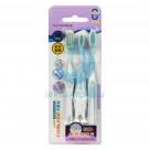 Набор зубных щеток Corlyse NO. 990 с резиновой головкой, soft (3 шт.)