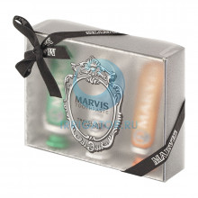 Набор зубных паст Marvis Travel With Flavour, 3 шт