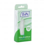 Зубная нить TePe Multifloss 3 в 1, 100 шт.